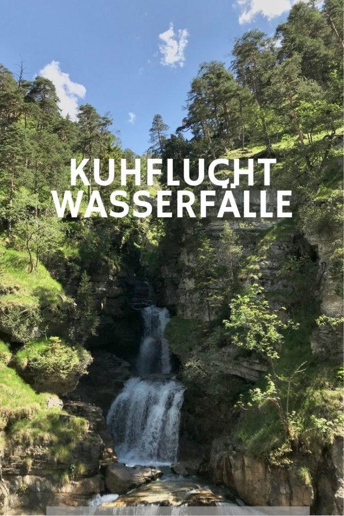Kuhflucht Wasserfälle merken - mit diesem Bild