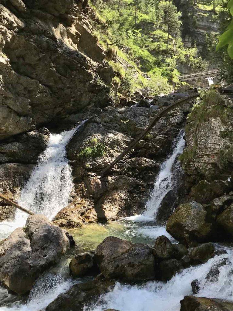 Die Kuhflucht Wasserfälle in Farchant