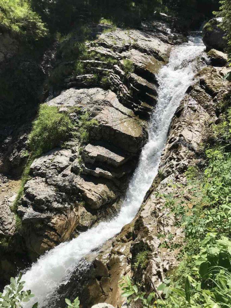 Das sind die Kuhflucht Wasserfälle bei Garmisch Partenkirchen