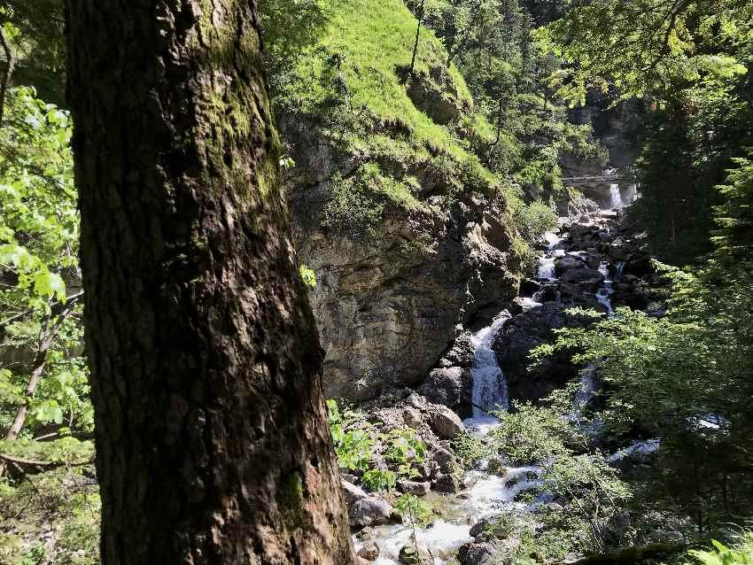 Die Kuhfluchtwasserfälle Garmisch-Partenkirchen Bayern
