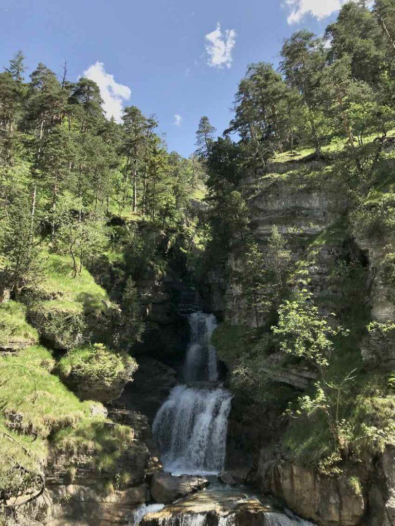 Kuhfluchtwasserfälle Wanderung in Farchant