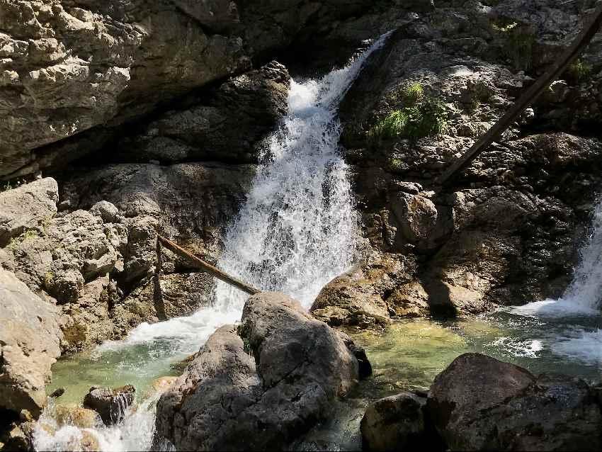 Wanderung Kuhfluchtwasserfälle - sehr idyllisch!