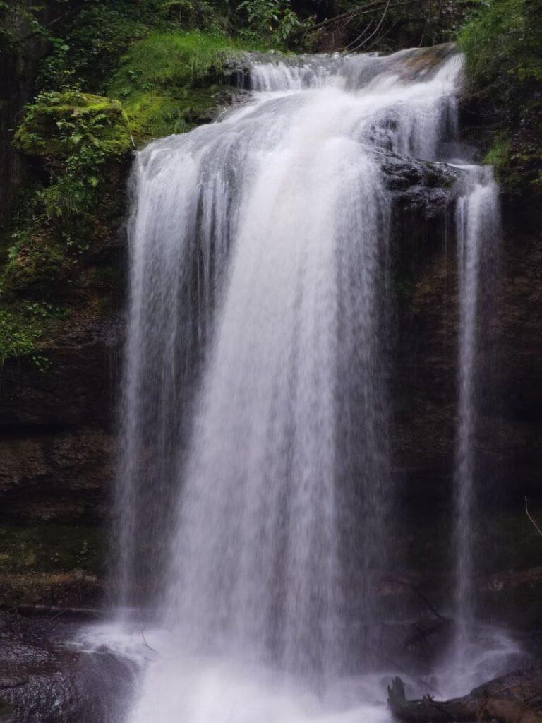 Wasserfälle Bayern nahe dem Schliersee: Die Josefstaler Wasserfälle