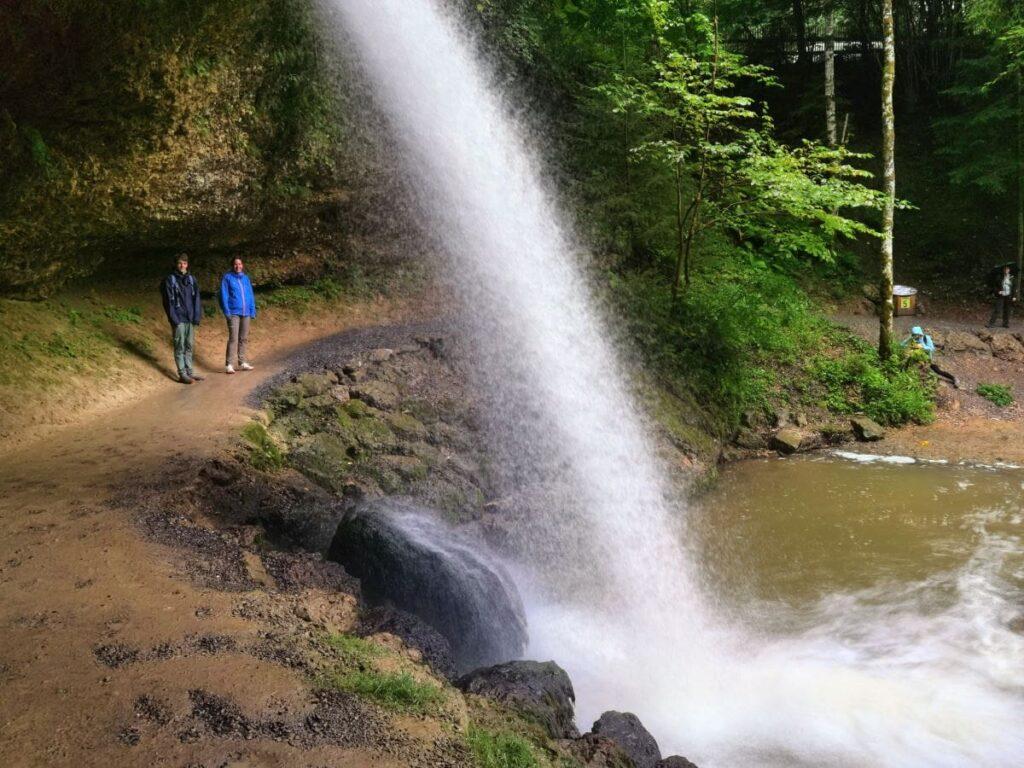 Wasserfälle Bayern - Die Scheidegger Wasserfälle im Allgäu