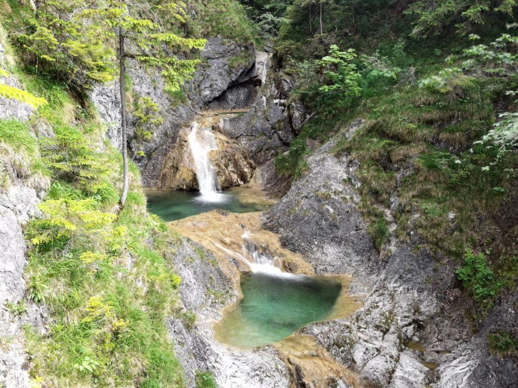 Wasserfälle Bayern und Gumpen - wahnsinng schön hier!